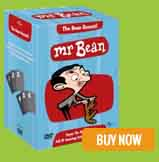 Mr Bean Animated Boxset White On Orange Tiger Aspect Productions